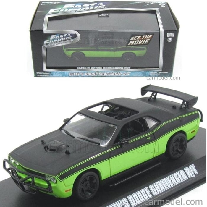 Diecast Greenlight 1:43 Letty's Dodge Challenger R/T 2014 Fast Furious