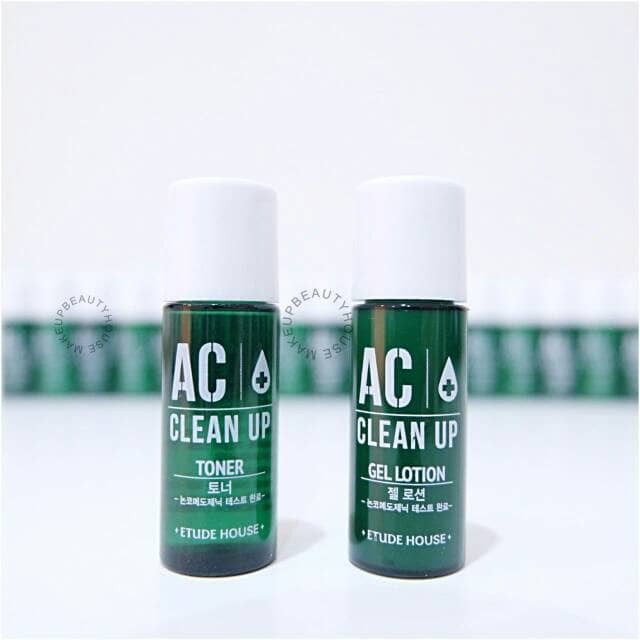 ETUDE HOUSE AC Clean Up Toner / Gel Lotion