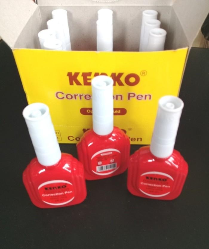 Tip Ex Cair Correction Pen Oil Based Quick Dry Kenko KE-01