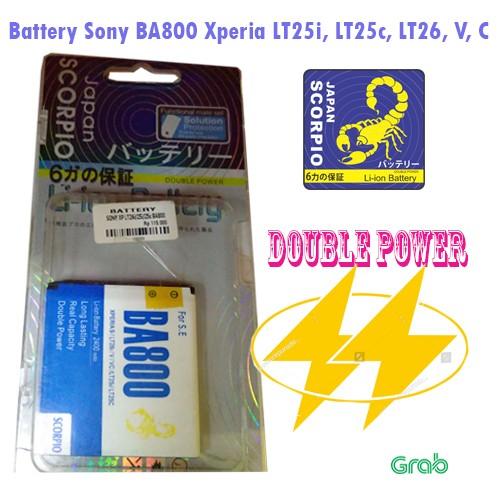 harga Battery baterai sony ba800 xperia s v c lt26i lt25i lt25c double power Tokopedia.com