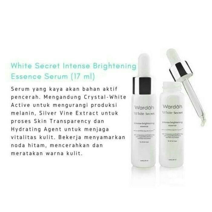 Info Wardah White Secret DaftarHarga.Pw