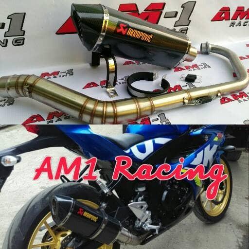 harga Knalpot racing akrapovic layang evo suzuki gsx 150 150r s satria f fu Tokopedia.com
