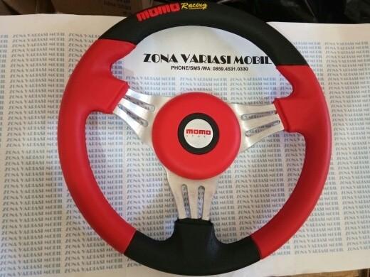 harga Stir / steer / setir racing mobil momo model isotta baru 14 inch merah Tokopedia.com