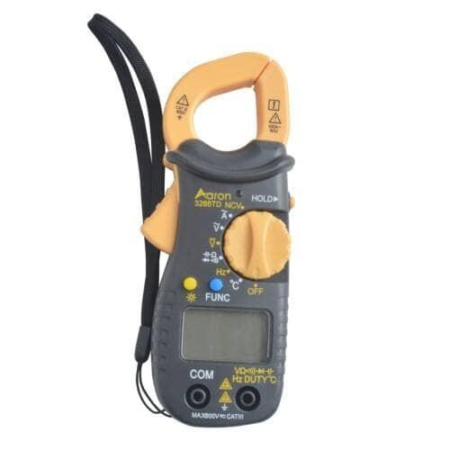 harga Tang ampere digital clamp multimeter temperature tester aaron 3266td Tokopedia.com