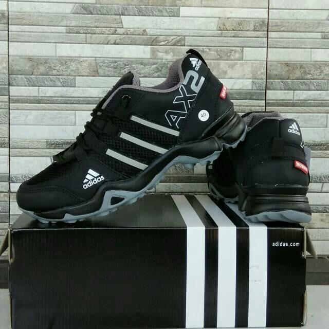 Jual Sepatu Adidas AX2 Go Trex Black Grey Harga Distributor Paling ... 73358453c3