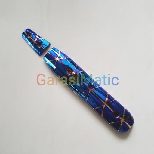 harga Tameng knalpot blue x thailand - yamaha nouvo Tokopedia.com
