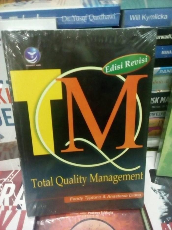 harga Total quality management tqm - fandy tjiptono - andi - buku asli Tokopedia.com