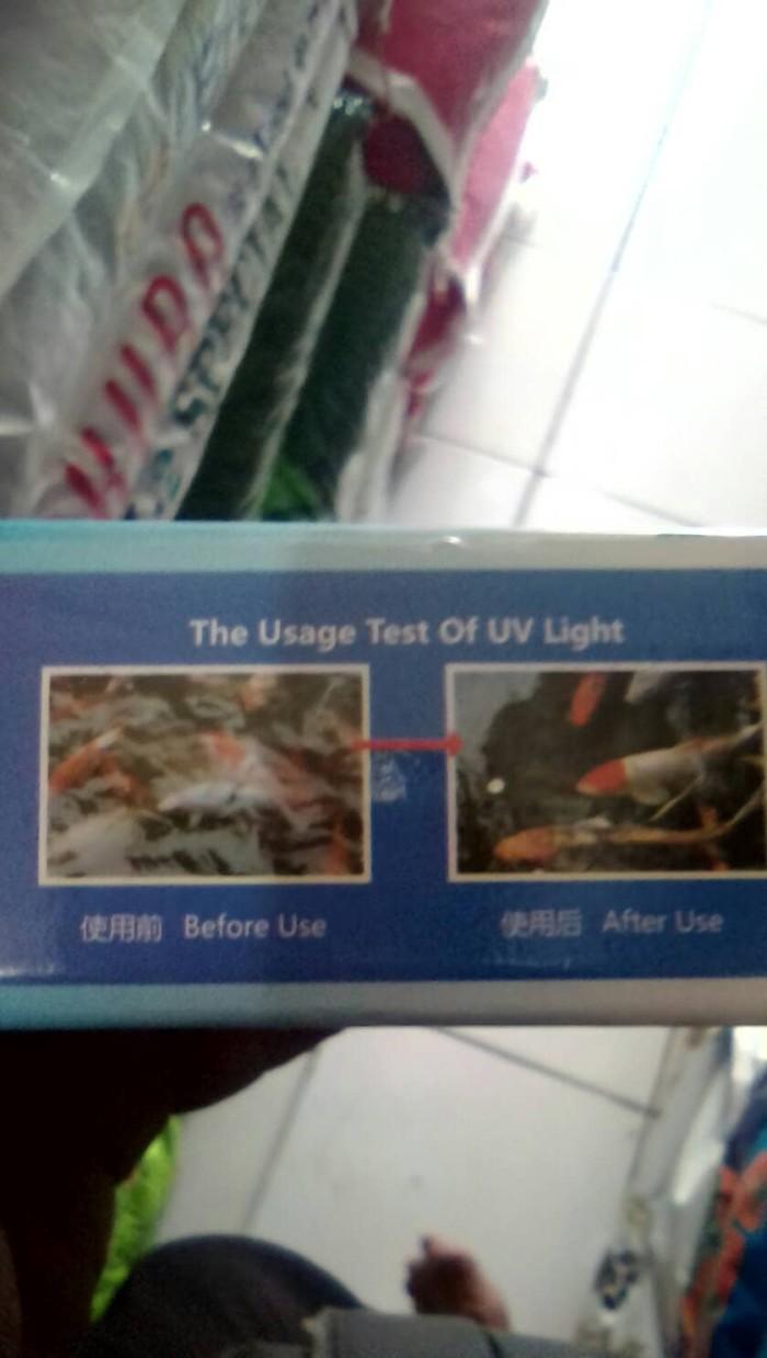 Jual Aquarium Ikan Lampu Uv Yang T4 Amira Multi Tokopedia Light 15w
