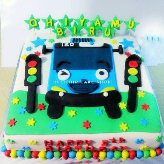 Jual Kue Ulang Tahun Tayo Birthday Cake Kab Bandung Barat Delichip Tokopedia