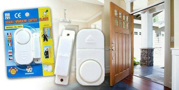 ... Alarm Pintu Jendela Rumah Anti Maling Keamanan Door Window Entry Alarm