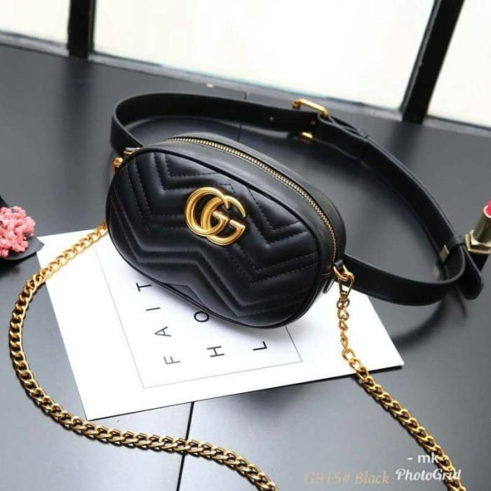 Jual Waist Bag Gucci Marmont Gucci Tas Pinggang GG Love Gc-915 ... 5b62d630aa