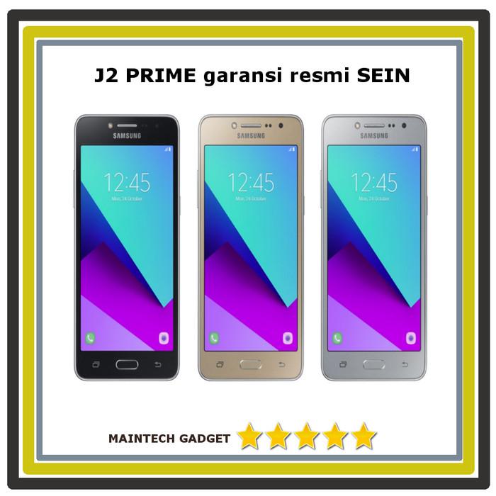 Samsung J2 Prime Silver Black Gold Resmi Sein 1 Thn
