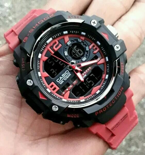 harga Jam tangan sport casio g-shock gwn8600 black red Tokopedia.com