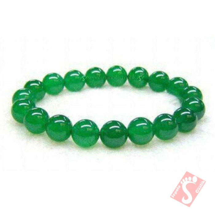 harga Gelang batu giok hijau lumut hijau asli  nefrite jade aceh jade green Tokopedia.com