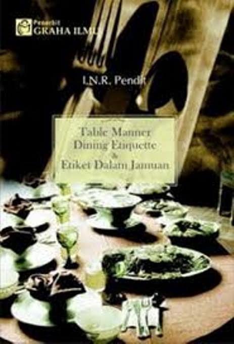 harga Buku table manner dinning etiqutte & etiket dalam jamuan Tokopedia.com