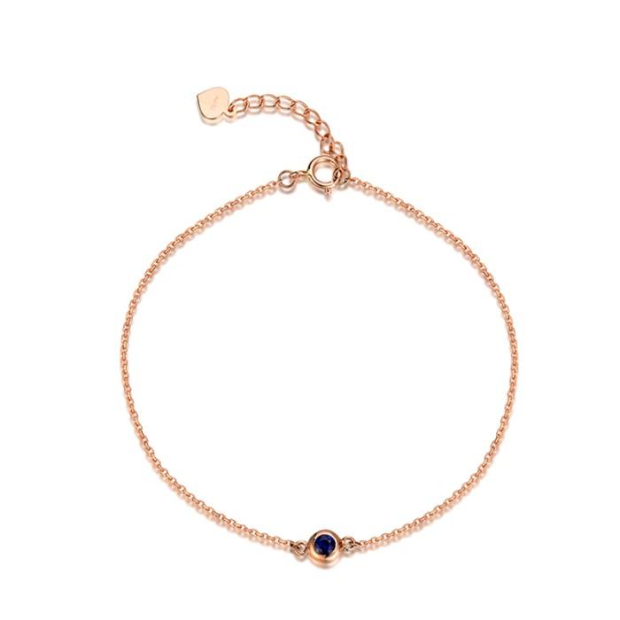 Jual Tiaria 18k Magnificent Sapphire Bracelet Perhiasan Gelang Emas Harga Promo Terbaru