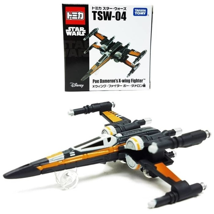 Foto Produk Tomica Star Wars TSW-04 Poe Dameron's X-wing Fighter dari Collection Toys Firda