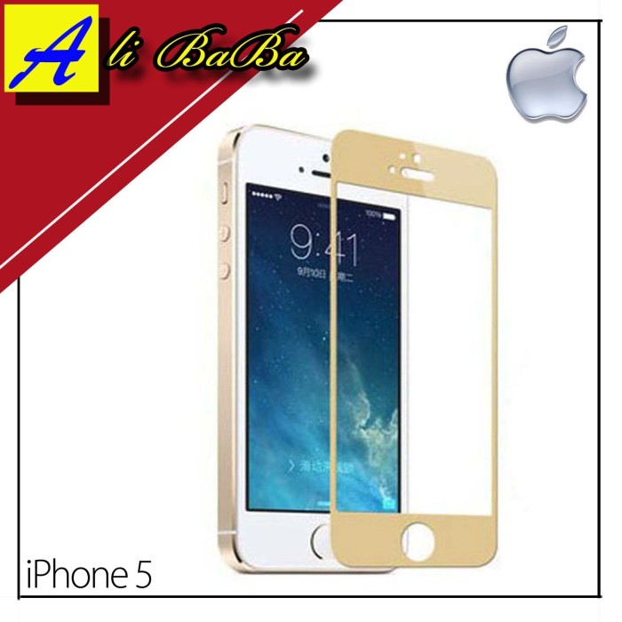 harga Tempered glass handphone iphone 5 5s 5g with 3d technology anti gores Tokopedia.com