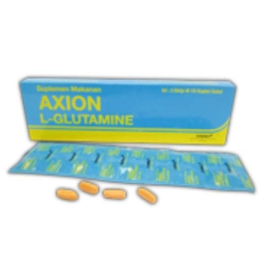 harga Axion l - glutamine 1000 mg / harga 1 box isi 30 kaplet Tokopedia.com