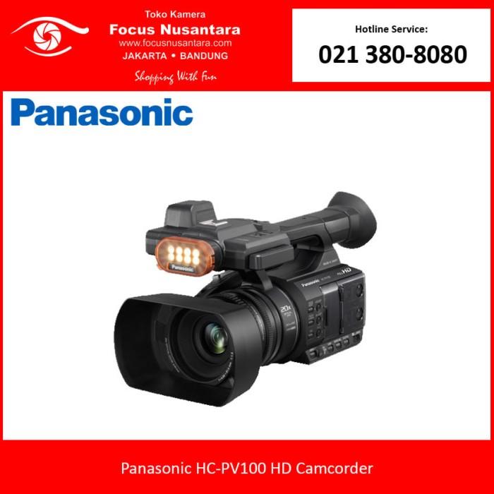 harga Panasonic hc-pv100 hd camcorder Tokopedia.com