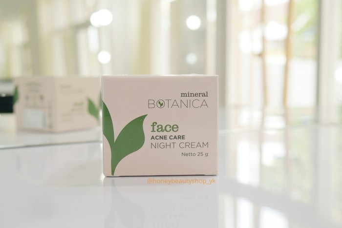 Foto Produk MINERAL BOTANICA FACE ACNE CARE - NIGHT CREAM dari Honey_Beauty_Shop