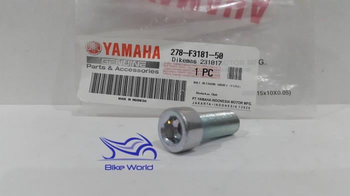 harga Baut tabung shock depan / hexagon rx king 278-f3181-50 yamaha genuine Tokopedia.com
