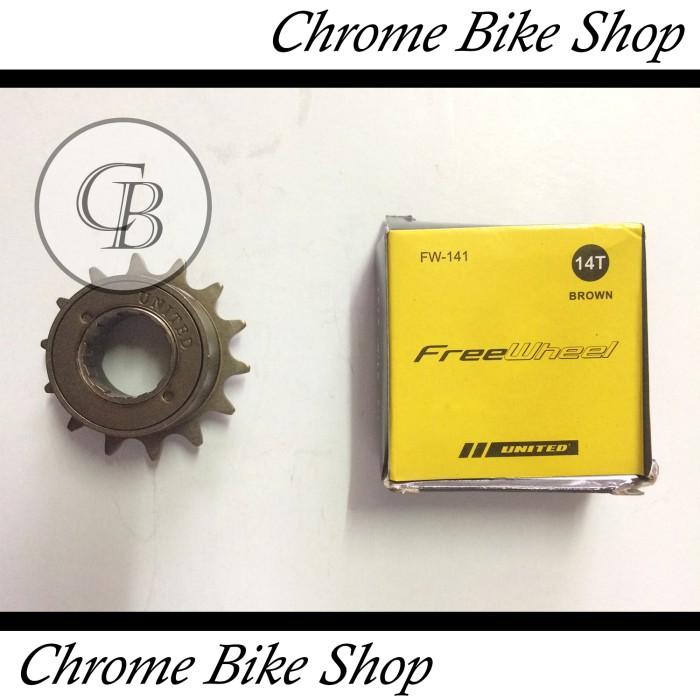 harga Freewheel sprocket sproket sepeda 14t united Tokopedia.com
