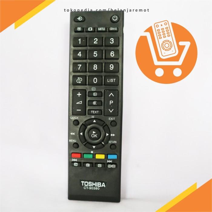 harga Remote tv toshiba regza lcd led ct-90380 ct-90336 original pabrik kw Tokopedia.com