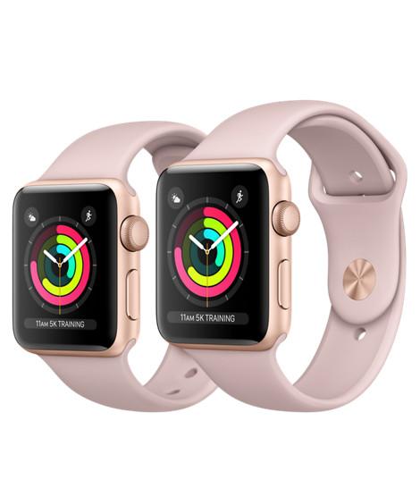 Jual Apple Watch Series 3 Gps 38mm Aluminum Rose Gold Pink Sport Band Jakarta Barat Sale Iphone X Tokopedia