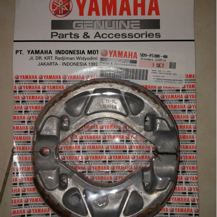 harga Kampas rem tromol belakang yamaha 5d9 vega jupiter z mx vixion scorpio Tokopedia.com