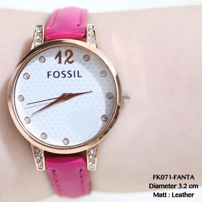 harga Jam tangan wanita dnky guess geneva fossil kulit fashion grosir murah Tokopedia.com