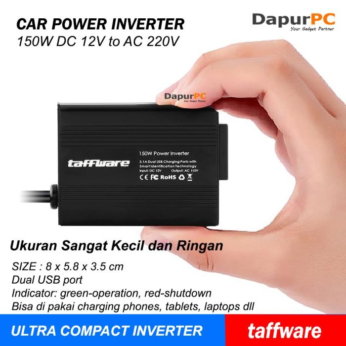 harga Car power inverter snan 150w 220v with 2 usb port Tokopedia.com