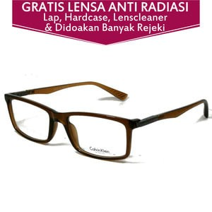 Jual Frame Kacamata Calvin Klein 5269 Coklat - Buka Optik  b1374b8c45