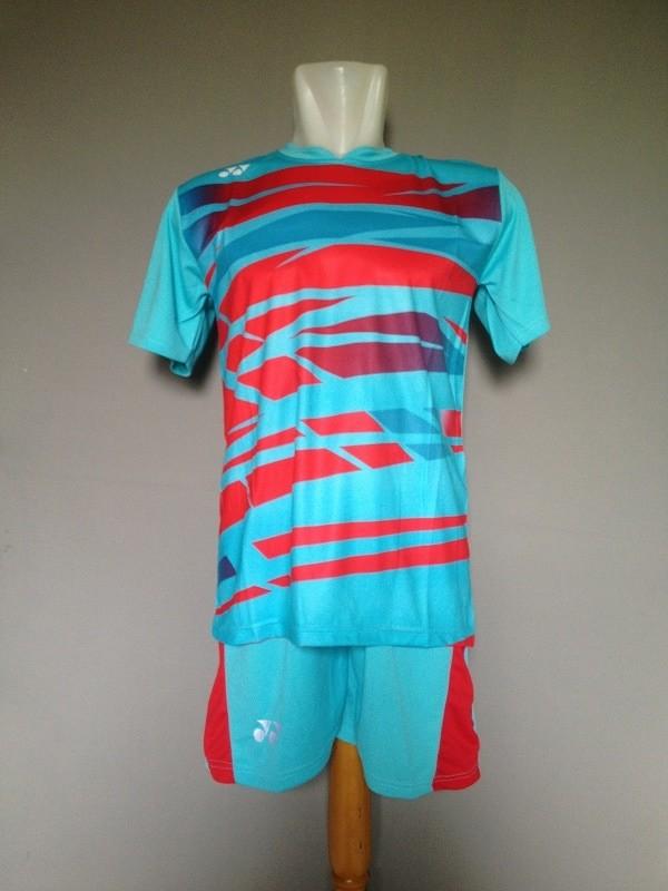 Baju Celana Kaos Setelan Badminton Jersey Bulutangkis Yonex Y29 Turqis