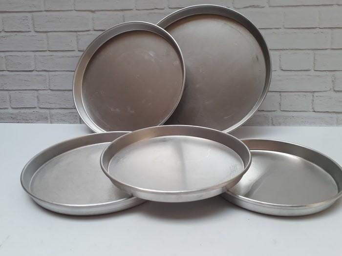 harga Loyang aluminium pizza 30 cm / pizza pan tebal / loyang pizza30 Tokopedia.com