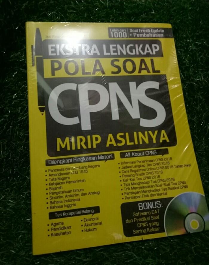 Jual Ekstra Lengkap Pola Soal Cpns Kota Bogor Arya Book Store Tokopedia