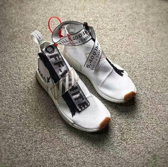 new product 4ed57 3be82 Jual Sepatu Adidas NMD City Sock CS1 x Off White Custom - DKI Jakarta -  TRSHOESTORE | Tokopedia