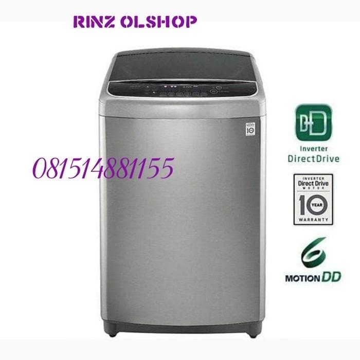 harga Mesin cuci 21kg top loading dd motion inverter smart thin lg t2721ssav Tokopedia.com