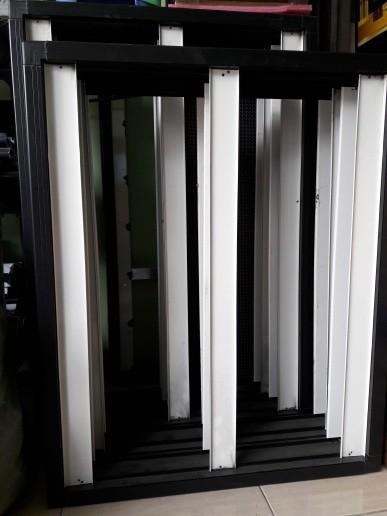 Foto Produk frame casing running text 2 sisi p10 outdoor 16x64 dari Perwira Technology