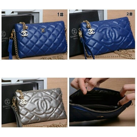 4acb353f3772 Jual CLUTCH CHANEL WITH BOX VIC3011 - Kota Batam - dhaffy collection ...