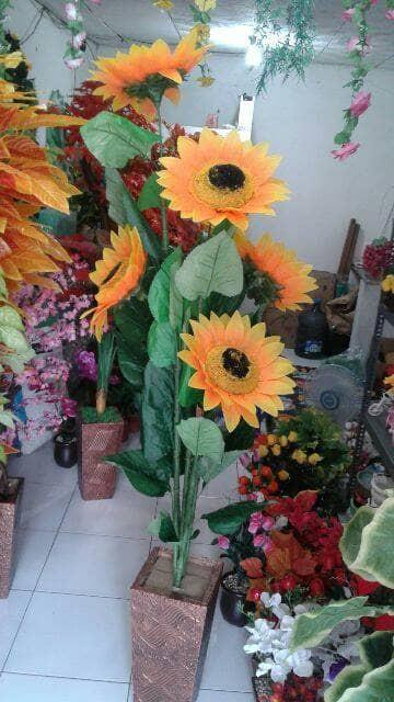 Jual Matahari Bunga Plastik Kota Bogor Fatih Bunga Plastik Tokopedia