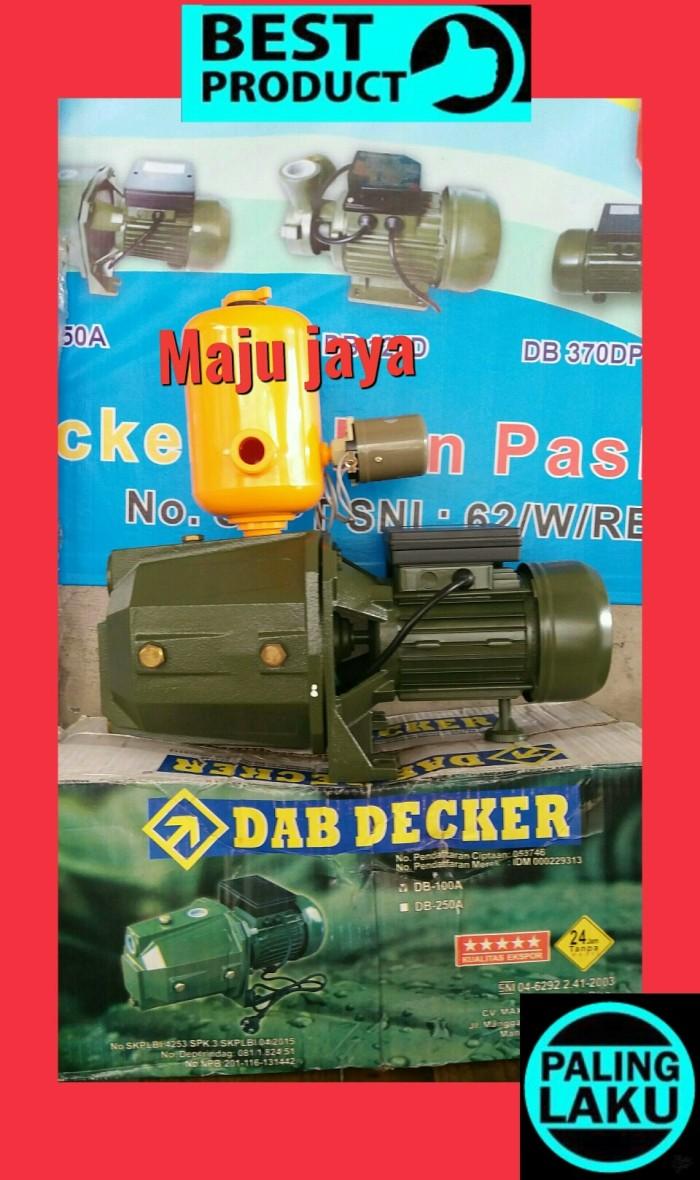harga Pompa air semi jet pump  dab decker   otomatis shimizu ps 108 york Tokopedia.com