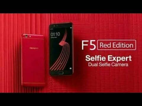 harga Oppo f5 red edition ram 6/64 Tokopedia.com