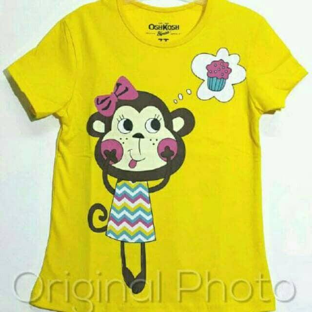 harga Kaos karakter anak oshkosh monyet kuning 1 sd 6 thn Tokopedia.com