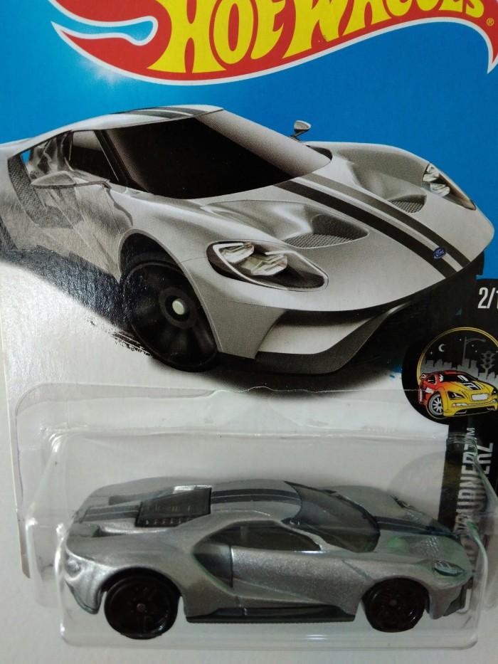 Hotwheels  Ford Gt Silver