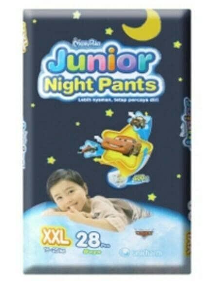 harga Promo ! mamypoko junior night pants xxl 28 Tokopedia.com