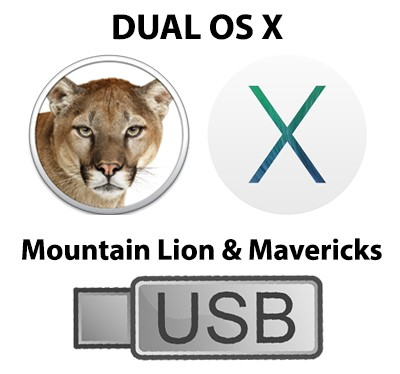 harga Usb 2.0 dual installer os x mountain lion 10.8.5 & mavericks 10.9.5 Tokopedia.com
