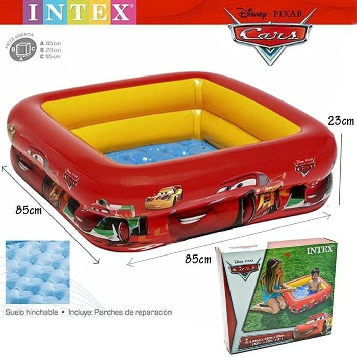 Kolam renang anak motif cars mcqueen / bak mandi box pool intex 57101