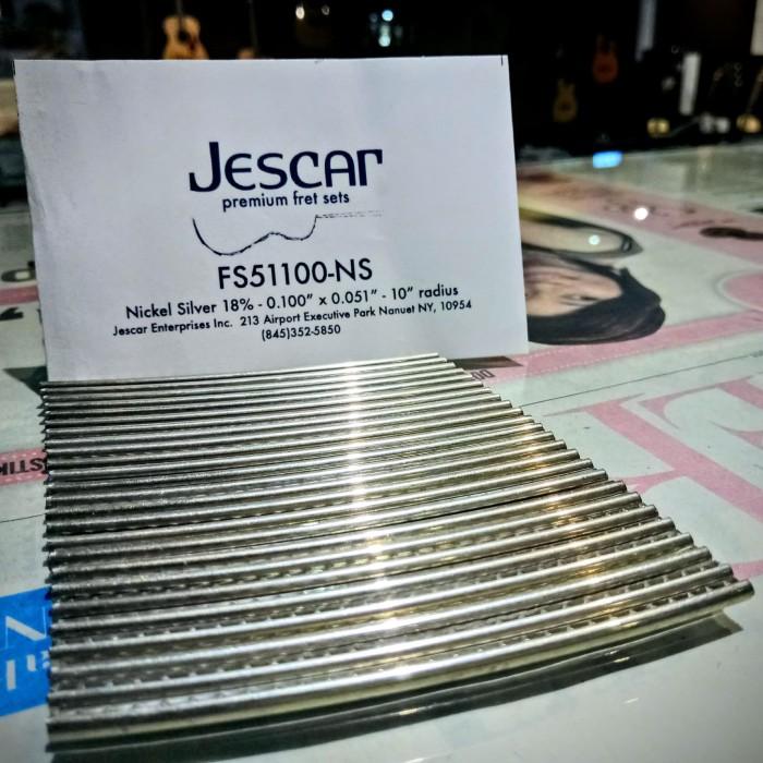 Jual Jescar FS-51100-NS Nickel Silver Fret Wire - Kitharra ...