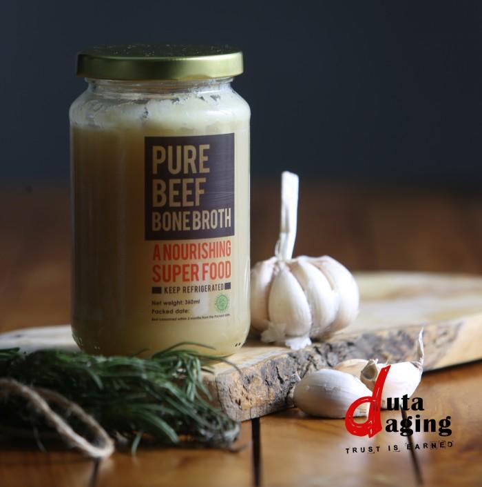 harga Homemade asli 100% grass-fed beef bone broth - 360ml (sari pati sapi) Tokopedia.com